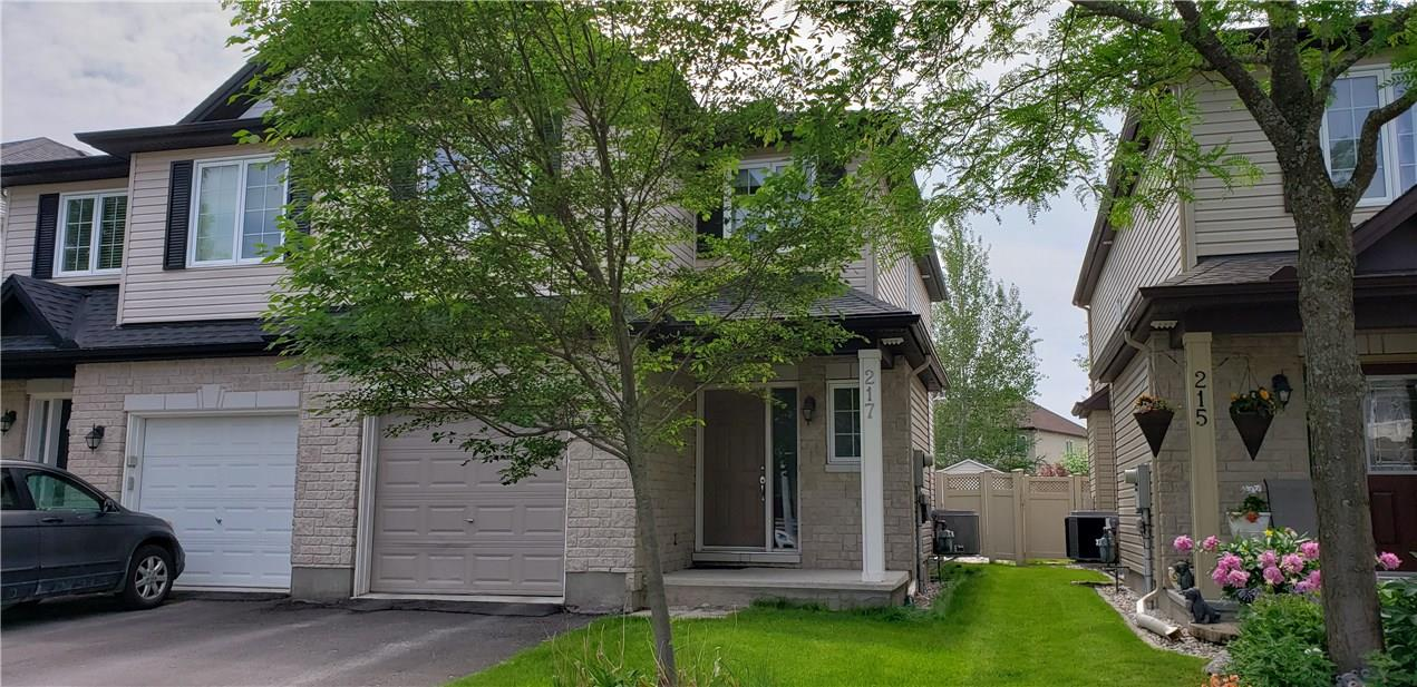 Real Estate Listing   217 BRADWELL WAY Ottawa